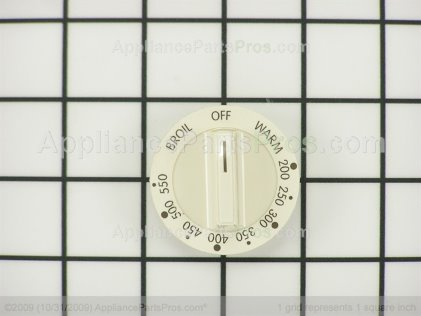 Frigidaire Knob`thermostat `bisque 316123309 from AppliancePartsPros.com