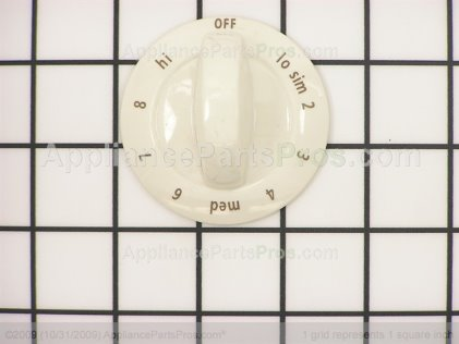Frigidaire Knob, Top Burner Control 318196635 from AppliancePartsPros.com