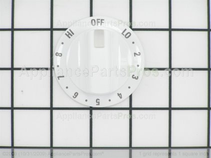 Frigidaire Knob,white 316208100 from AppliancePartsPros.com