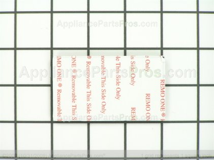 Frigidaire Label 242015201 from AppliancePartsPros.com