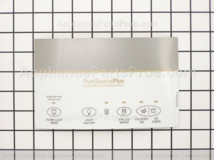 Frigidaire Label-Module Cover, White 218903704 from AppliancePartsPros.com