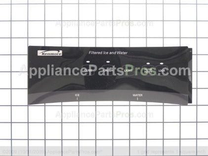 Frigidaire Label-Module Cover 240418311 from AppliancePartsPros.com