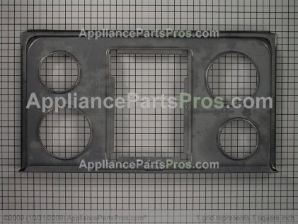 Frigidaire Main Top, Chrome 5303293761 from AppliancePartsPros.com
