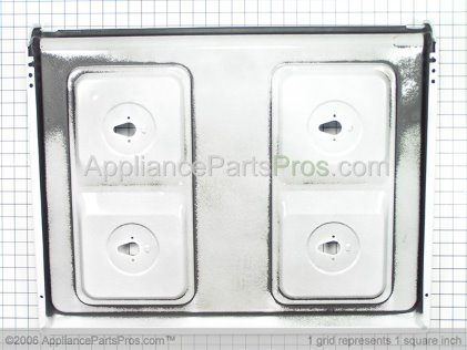 Frigidaire Maintop, White 316202317 from AppliancePartsPros.com