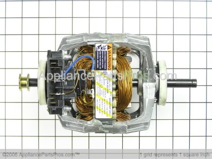 Frigidaire Dryer Drive Motor with Pulley 134196600 from AppliancePartsPros.com