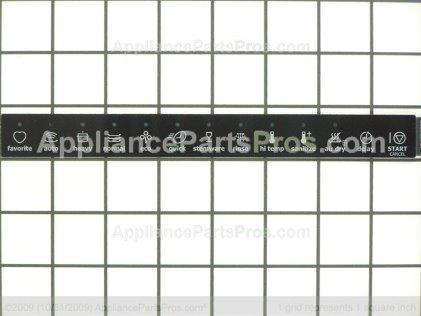 Frigidaire Overlay 154620603 from AppliancePartsPros.com
