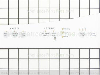 Frigidaire Overlay 154809401 from AppliancePartsPros.com