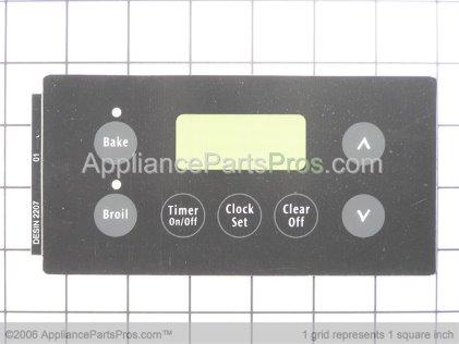 Frigidaire Overlay, 316220701 from AppliancePartsPros.com