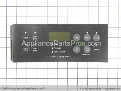 Frigidaire Overlay 316419103 from AppliancePartsPros.com