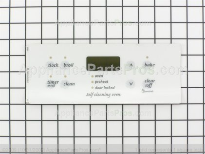 Frigidaire Overlay 316419113 from AppliancePartsPros.com