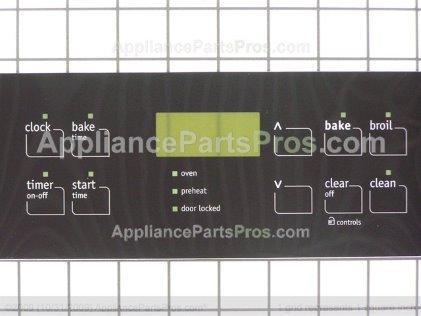 Frigidaire Overlay 316419141 from AppliancePartsPros.com