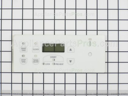 Frigidaire Overlay, Clock 316101522 from AppliancePartsPros.com
