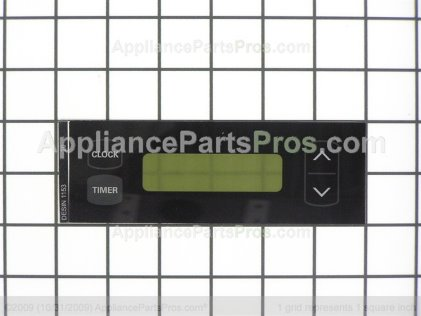Frigidaire Overlay-Clock 316115320 from AppliancePartsPros.com