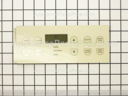 Frigidaire Overlay-Clock, Almond 316101504 from AppliancePartsPros.com