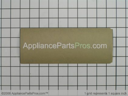 Frigidaire Overlay`clock `black 316220801 from AppliancePartsPros.com