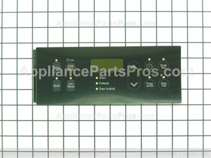 Frigidaire OVERLAY,CLOCK,BLACK,ES300 316220841 from AppliancePartsPros.com