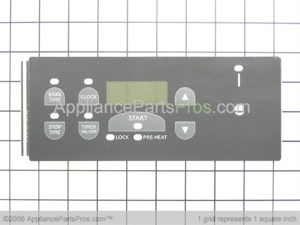 Frigidaire Overlay-Clock (not Illustrated) 316101505 from AppliancePartsPros.com