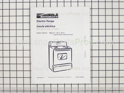 Frigidaire Owners Manual 316417206 from AppliancePartsPros.com
