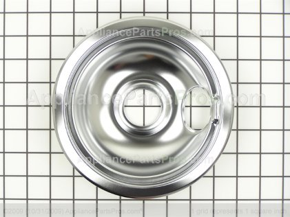 "Frigidaire Pan 6"" Chrome 316048414 from AppliancePartsPros.com"