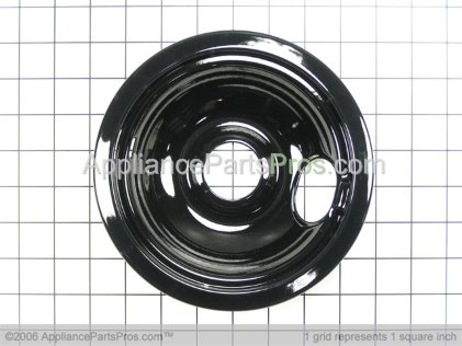 Frigidaire Pan,black-6`` 5304430149 from AppliancePartsPros.com