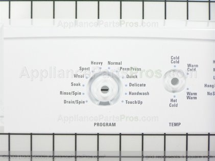 Frigidaire Panel 134443000 from AppliancePartsPros.com