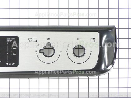 Frigidaire Panel Assembly 318922141 from AppliancePartsPros.com