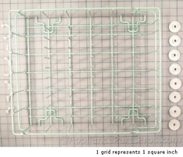 Frigidaire Rack Assembly-Blue 5303943057 from AppliancePartsPros.com