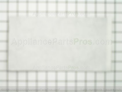 Frigidaire Reflector`aluminum Foil `black Door 5303208655 from AppliancePartsPros.com