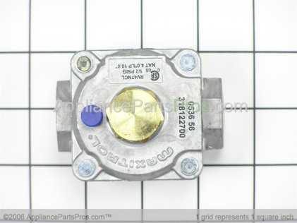 Frigidaire Regulator, Pressure 318122700 from AppliancePartsPros.com