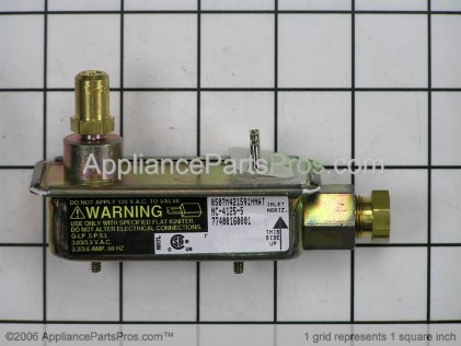 Frigidaire Safety Valve 5308009419 from AppliancePartsPros.com