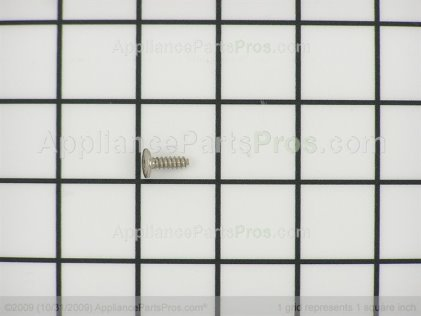 Frigidaire Screw (chrome) 316021109 from AppliancePartsPros.com