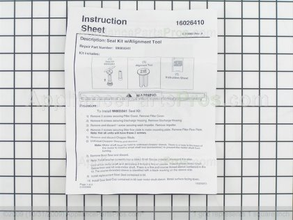 Frigidaire Seal Kit 5304470640 from AppliancePartsPros.com