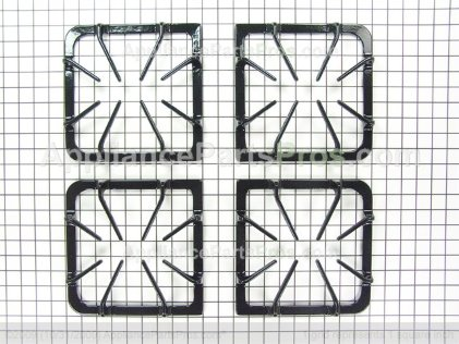 Frigidaire Set of Grates, Black Gloss 316252642 from AppliancePartsPros.com