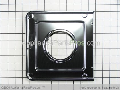 Frigidaire Square Gas Drip Pan 316011403 from AppliancePartsPros.com