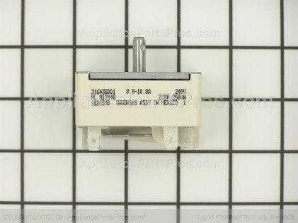 Frigidaire Surface Element Switch 316436001 from AppliancePartsPros.com