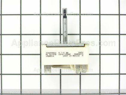 Frigidaire Switch 318293822 from AppliancePartsPros.com