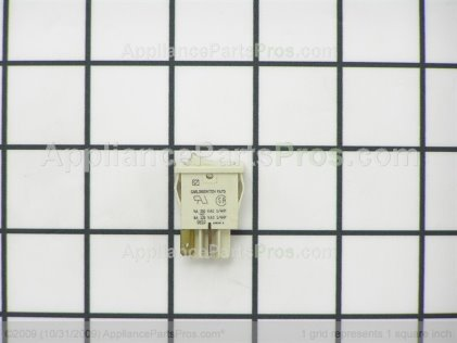 Frigidaire Switch-Oven Light, Rocker , Almond 316118102 from AppliancePartsPros.com
