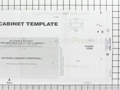 Frigidaire Template 5304467832 from AppliancePartsPros.com