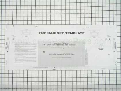 Frigidaire Template 5304468216 from AppliancePartsPros.com
