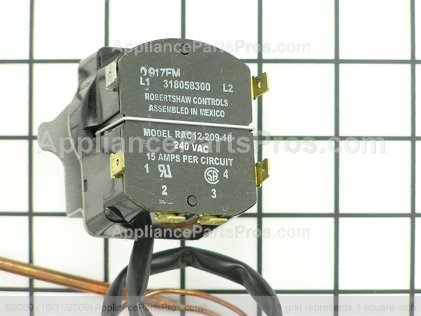 Frigidaire Thermostat-Oven 318058300 from AppliancePartsPros.com