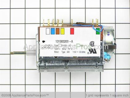 Frigidaire Timer Kit 131698400 from AppliancePartsPros.com