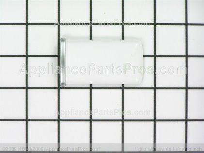 "Frigidaire Trim-Handle 2.47"" White W/satin Alum Band 215870629 from AppliancePartsPros.com"