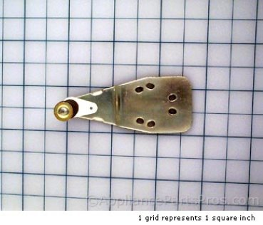 Frigidaire Upper Refrigerator Door Hinge Closer 218215241 from AppliancePartsPros.com