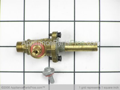 Frigidaire VALVE`9.5K Top Burner `w/ Mounting Screw 5303935213 from AppliancePartsPros.com
