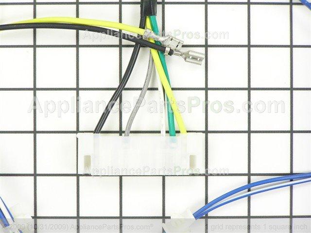 frigidaire 134394200 wiring harness appliancepartspros