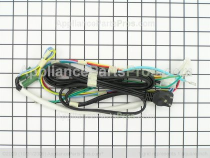 Frigidaire Wiring Harness, Machine Compt , W/electric Cord 240496101 from AppliancePartsPros.com