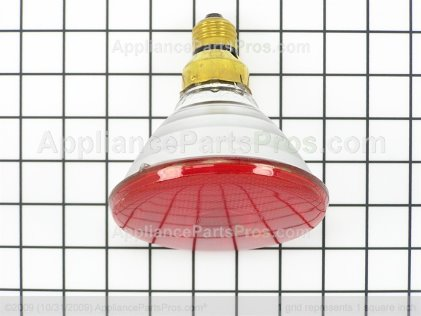 GE 120V 175W Infrared Lamp WB08X10029 from AppliancePartsPros.com