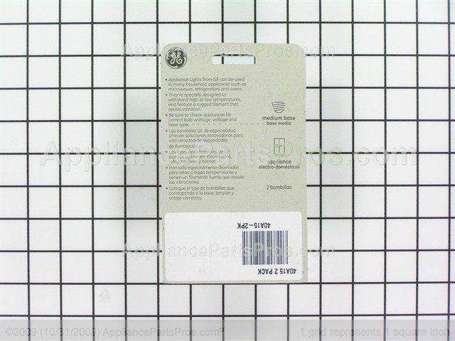 Ge 40a15 2pk 40a15 2 Pack Appliancepartspros Com