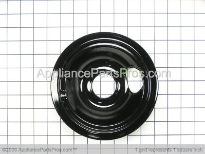GE 6 Inch Burner Bowl WB31T10014 from AppliancePartsPros.com