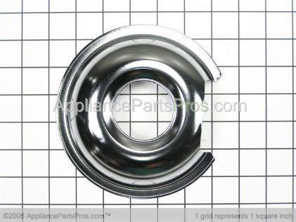 GE 6 Inch Drip Pan WB32X10012 from AppliancePartsPros.com
